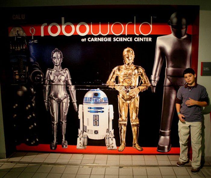 Зал славы роботов.