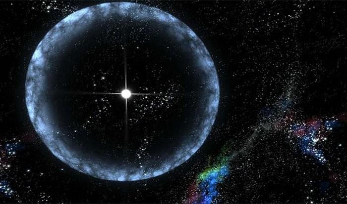 50 000 световых лет от Земли.