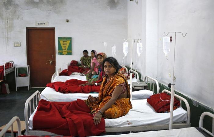 37 процентов замужних индийских женщин подверглись стерилизации.