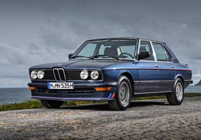 BMW M535i (E12) появился раньше, чем все остальные.