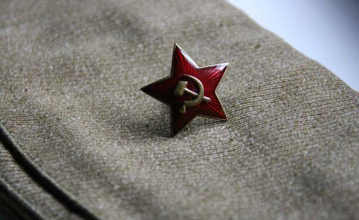 Марсова звезда стала символом защиты мира и труда. ¦Фото: fishki.net.