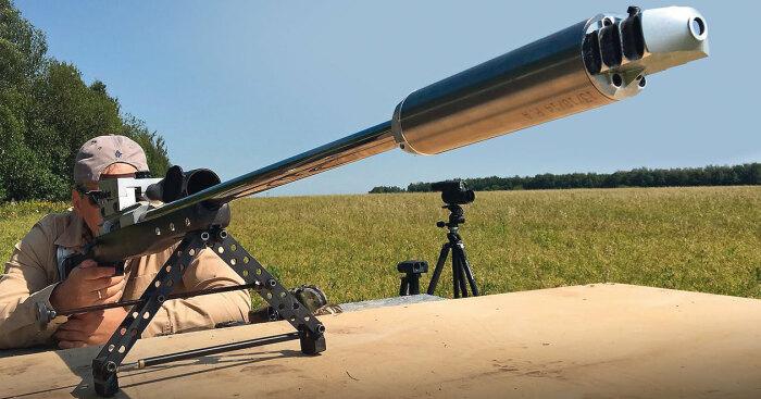 Как выстрелить на 4 км и попасть в яблочко. |Фото: popmech.ru.