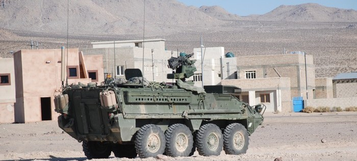 Stryker Armored Personel Carrier.