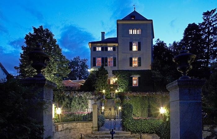 Ресторан «Schloss Schauenstein».