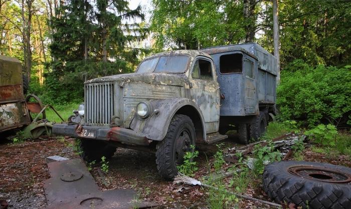 ГАЗ-51 с дополнительной кабиной