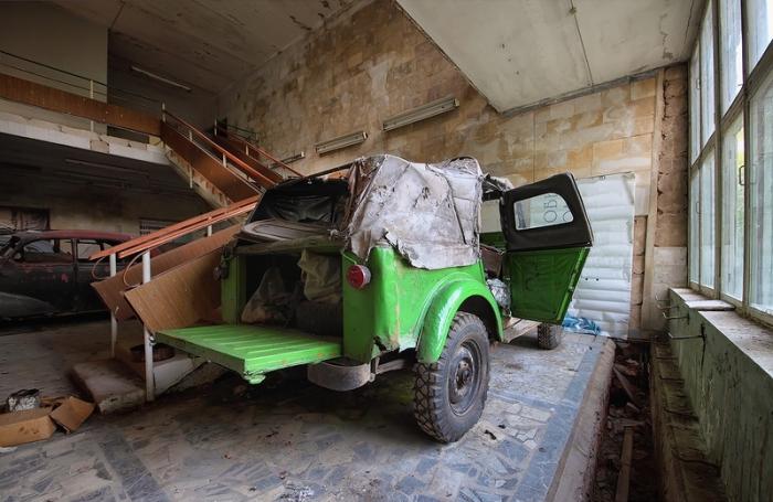Советский внедорожник  ГАЗ-69.