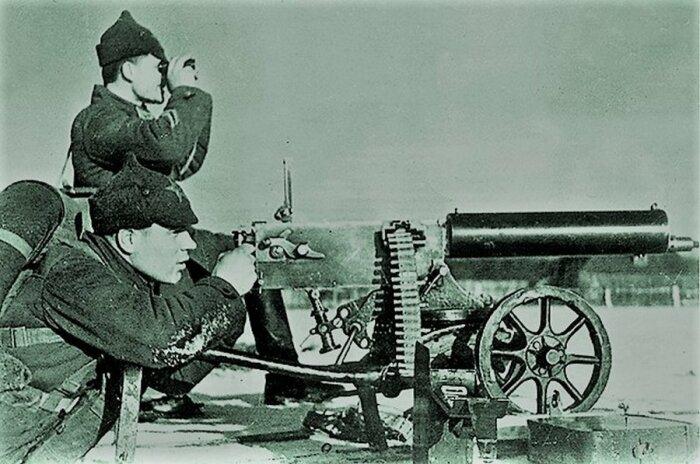 Максим начала XX века был гораздо тяжелее, чем Максим времен ВОВ. |Фото: ribalych.ru.