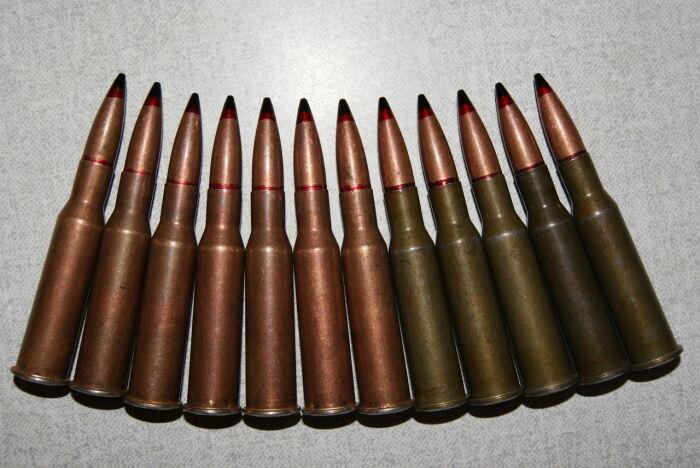 У Мосинки и Максима один патрон. |Фото: guns.allzip.org.