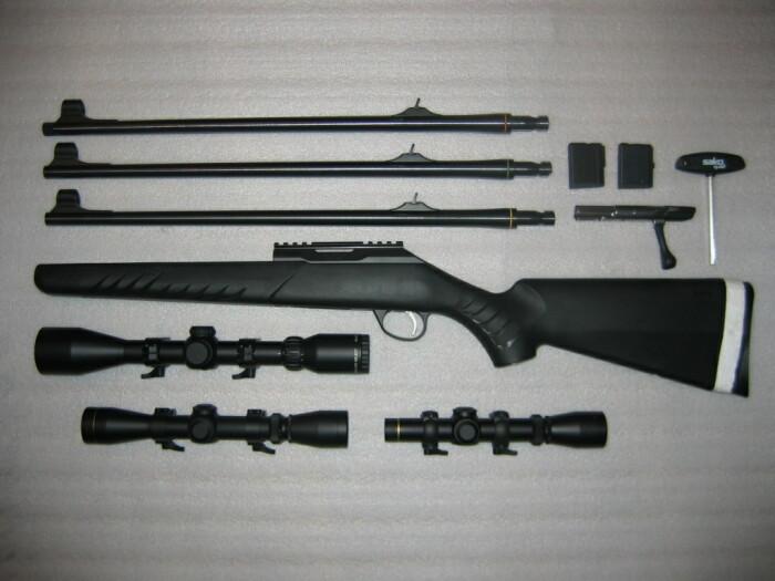 Чаще всего мультикалиберность достигается заменой ряда важных компонентов конструкции. |Фото: forum.guns.ru.
