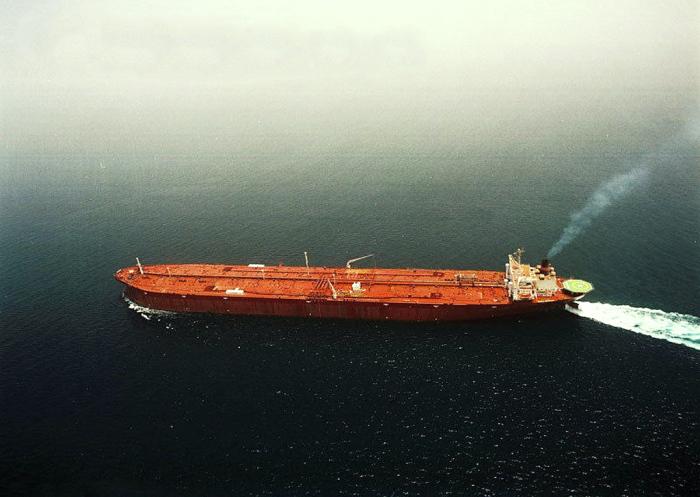 Самый большой корабль до 2009 года. |Фото: grandstroy.blogspot.com.