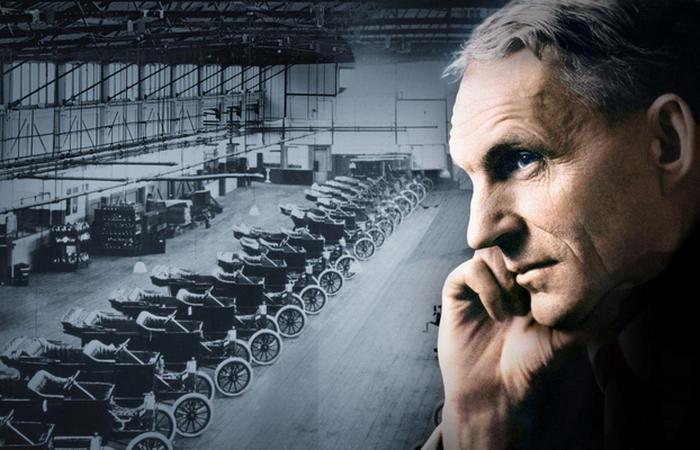 Ford Motor Company, конвейер, Модель Т.