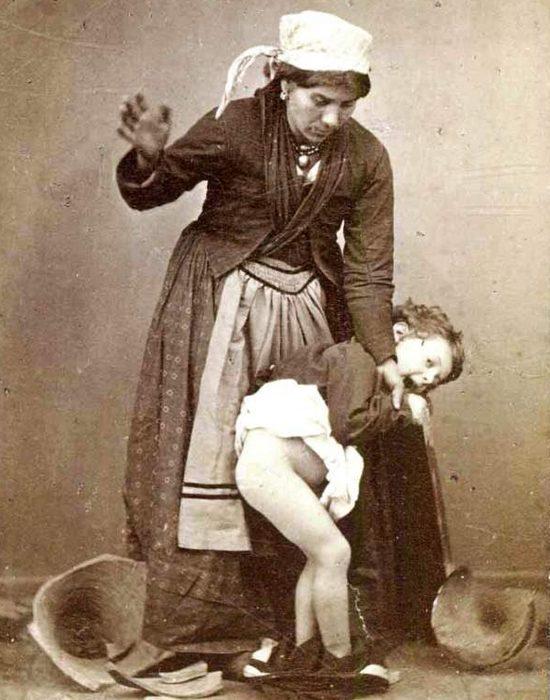 Нелепый запрет на наказание детей.