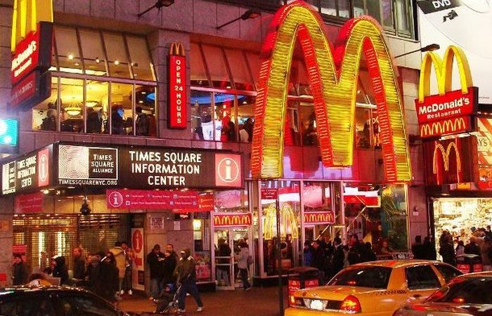 Нелепый запрет на McDonald's.