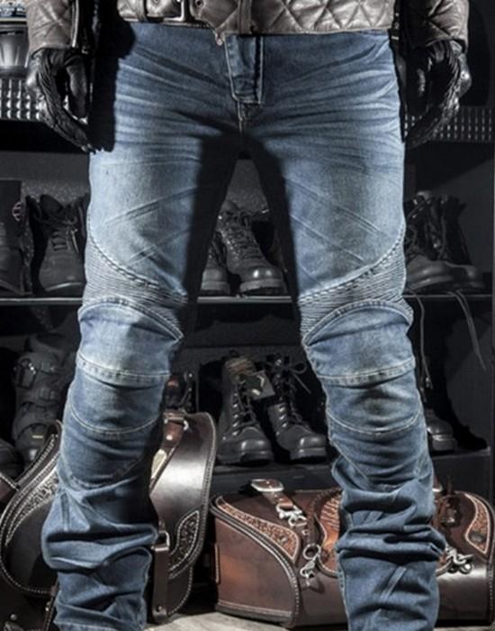 Нелепая мода на плиссированные джинсы.