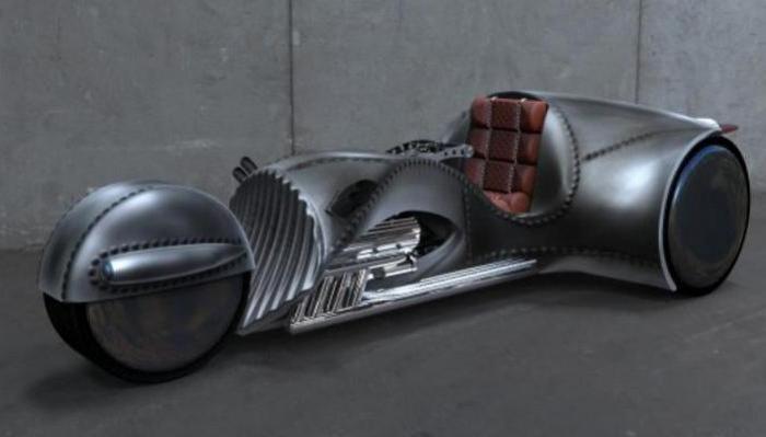 Ошеломляющий мотоцикл Rivet от Капитана Кирка.