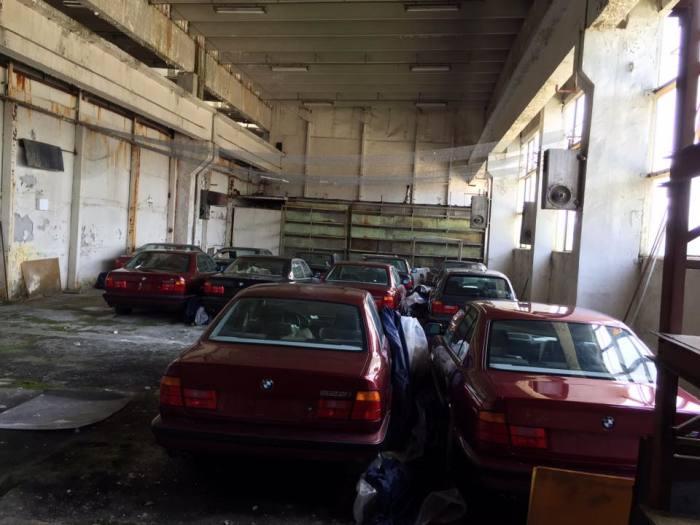 Машины ждали все эти годы.   Фото: Facebook.com «Център за БОРБА с Ръждата».