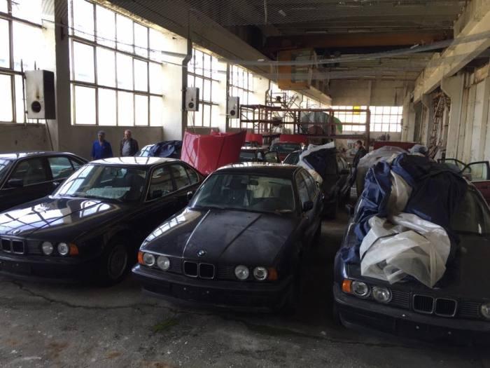 Машины реализуют с аукциона. | Фото: Facebook.com «Център за БОРБА с Ръждата».