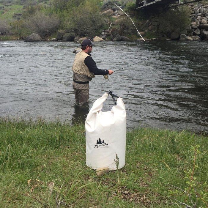 Идеальное решение для рыбалки.