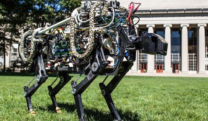 Робот гепард.