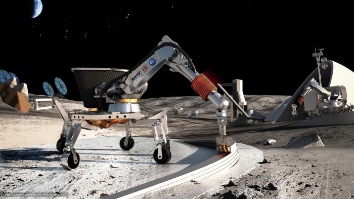 Роботы - лучшие помощники в космосе.