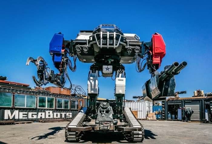 Американцы создали робота-гладиатора для поединков с японцами.