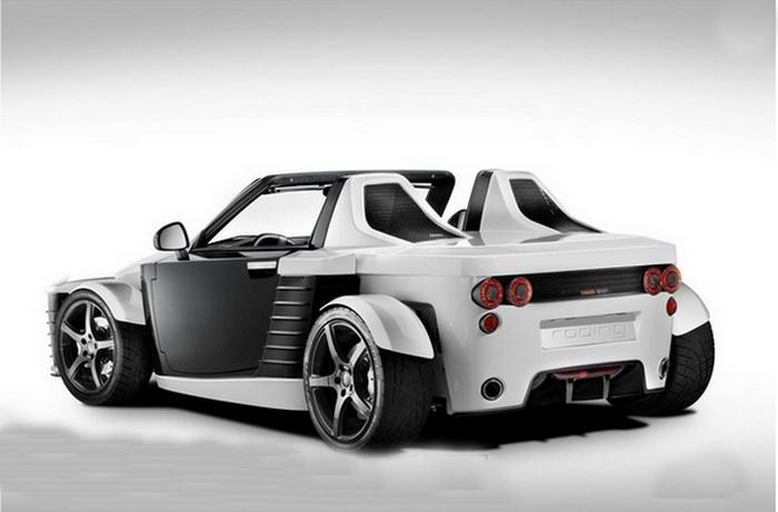 Roding Roadster 23  - комфортабельное трековое авто.