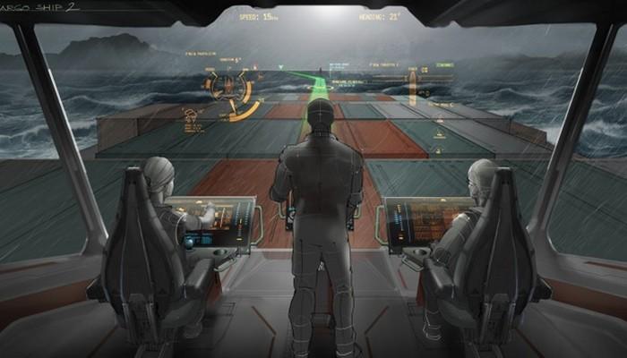 Виртуальный капитанский мостик от Rolls-Royce.