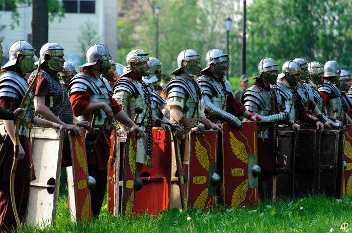 Легионеры были очень разными.|Фото: vk.com. клуб реконструкции Legio V Macedonica. Древний Рим. Реконструкция.