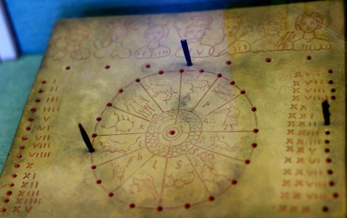 Древний календарь. |Фото: yandex.com.