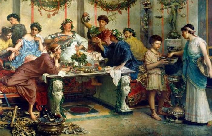 Римляне рвали, чтобы продолжать есть дальше.