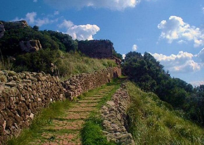 Древнеримская дорога в Санта- Агеба, Испания.