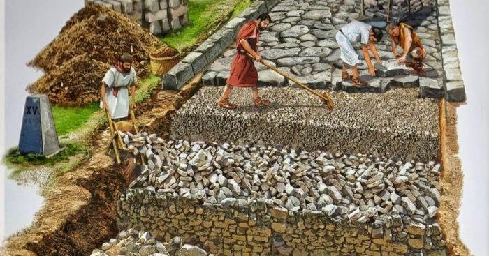 Римляне вообще любили копать и строить всякое. |Фото: ya.ru.