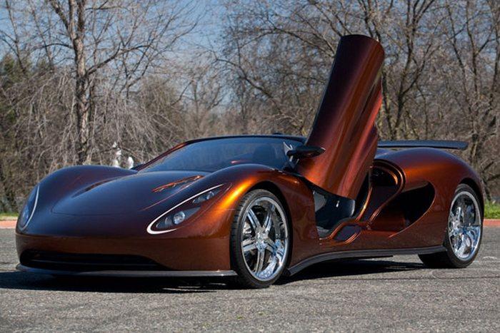 Эко-суперкар Scorpion от Ronn Motors.