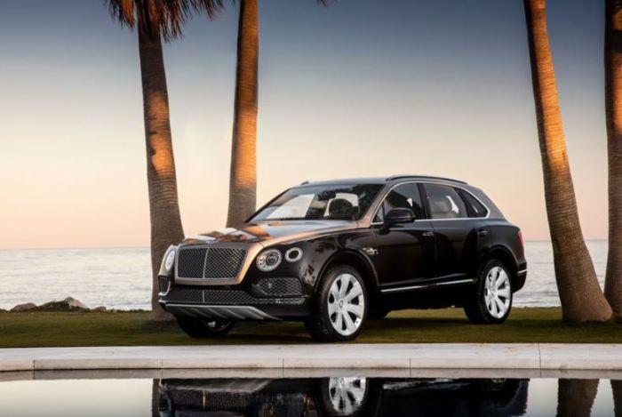 Bentley Bentayga - автомобиль сказочно дорогой.
