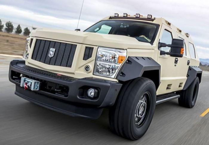 Сегодня трудной найти автомобиль надежней и роскошней, чем Rhino GX Executive.