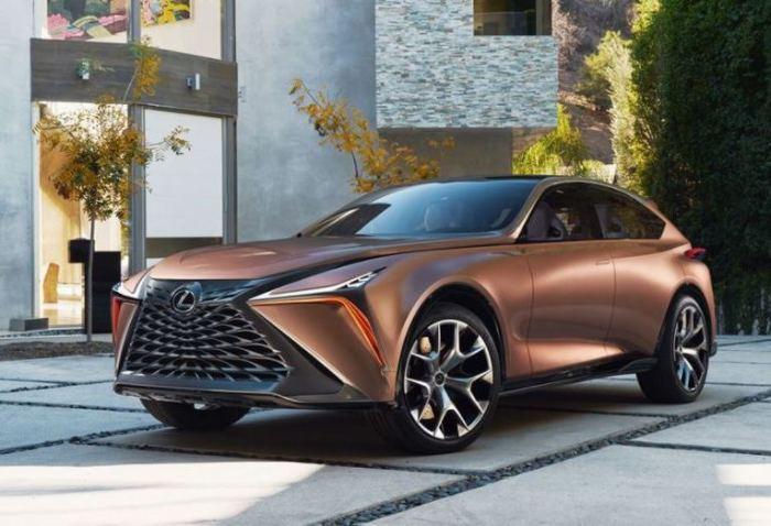Интересный дизайн Lexus LF-1 Limitless Concept наводит на мысли о будущем.