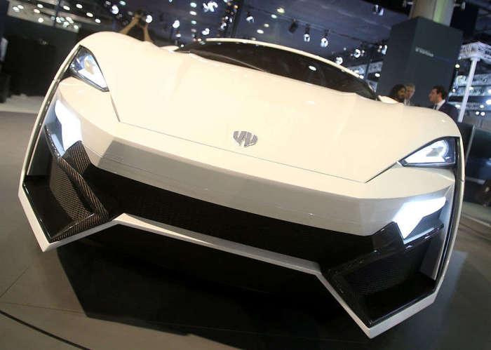 Первый арабский суперкар.