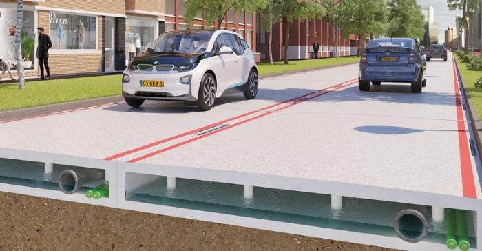 Дальше всех пошли Нидерланды, которые предложили проект полностью пластиковых модульных дорог.