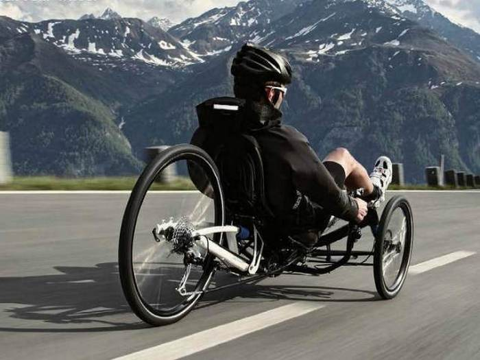 Велодельтаплан Ruder Trike.