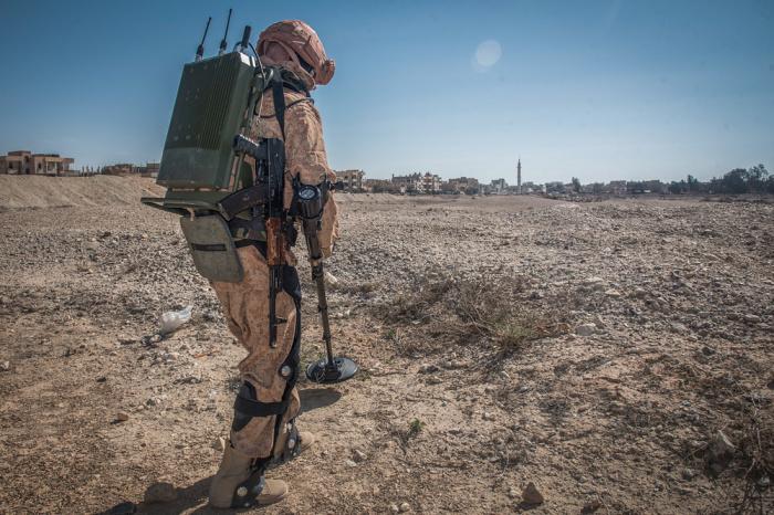 Костюм уже испытали в Сирии. | Фото: defence.ru.