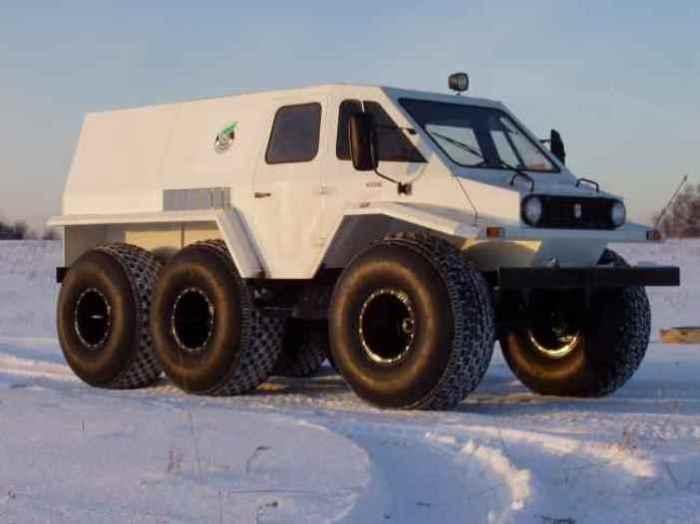 Специальный Trecol Trucks.