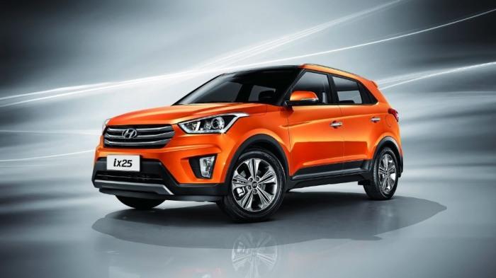 Роскошный и стильный Hyundai Creta.