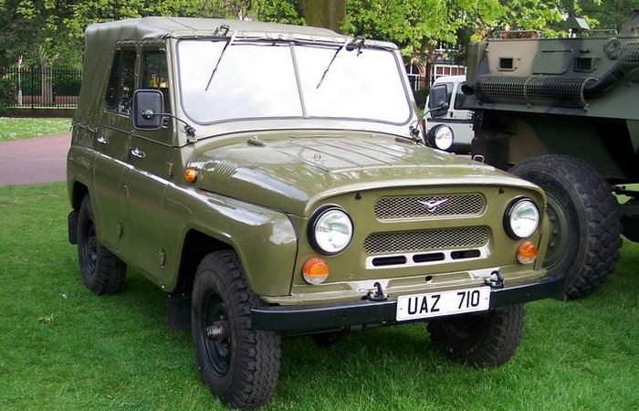 УАЗ-469 в строю.