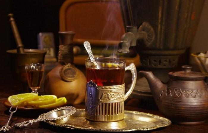 Русский чай.