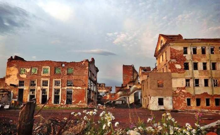 Местные шептались о том, что город стоит на плохом месте.