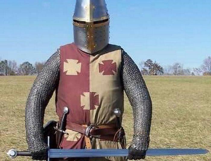 Даже в Европе рыцари выглядели скромнее. |Фото: pinterest.ru.