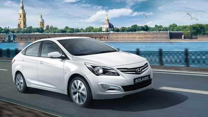 Добротный Hyundai Solaris все еще покупают.