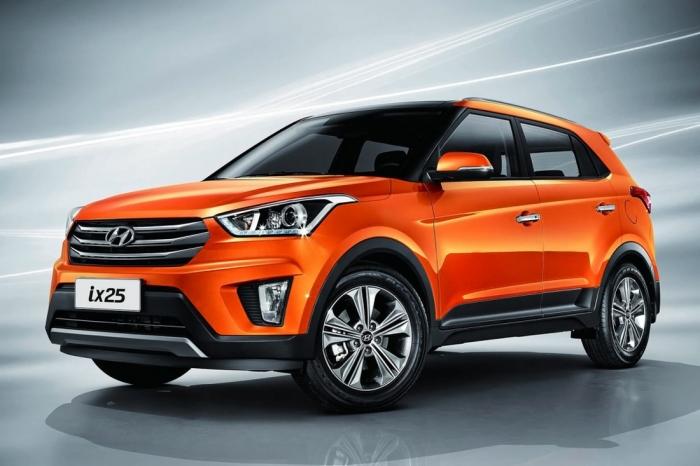 Совсем неплохой  Hyundai Creta.