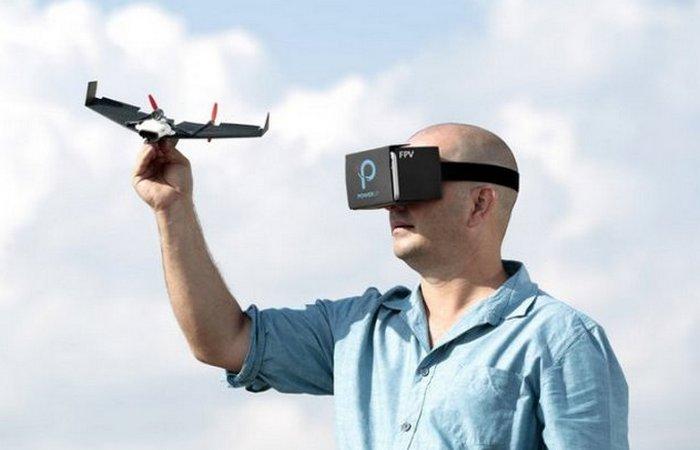 PowerUp FPV - технологичный бумажный самолётик.