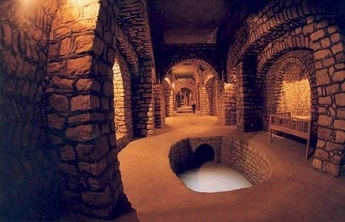 Подземный город Кариш.